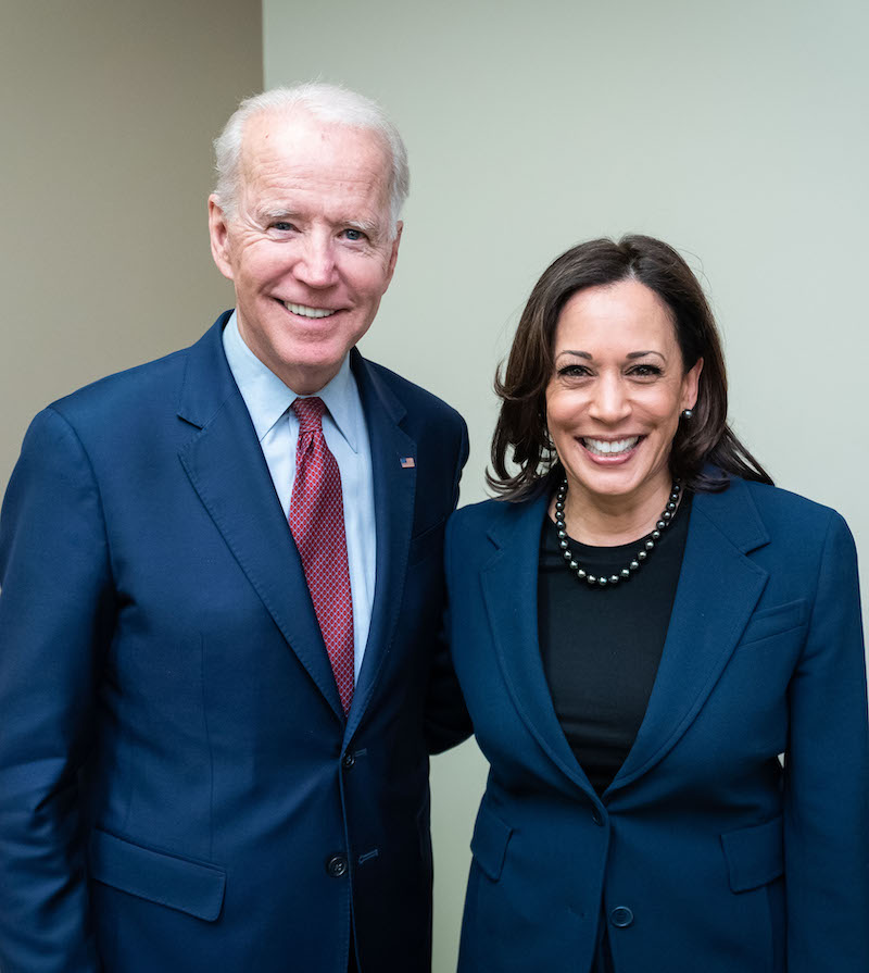 Joe Biden and Kamala Harris - Endorsed by the Carolina Federation